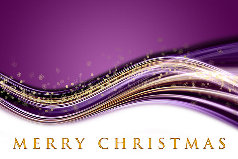Download Fantastic Christmas Wave Design With Snowflakes Stock Illustration - Illustration: 26564690