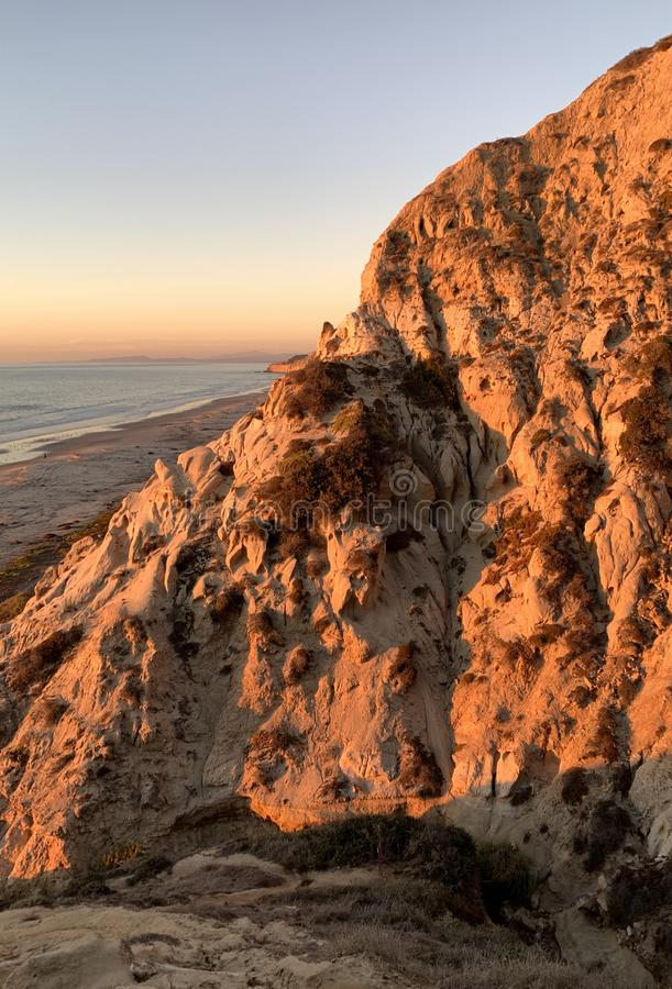 Fantastic cliffs, California royalty free stock photo