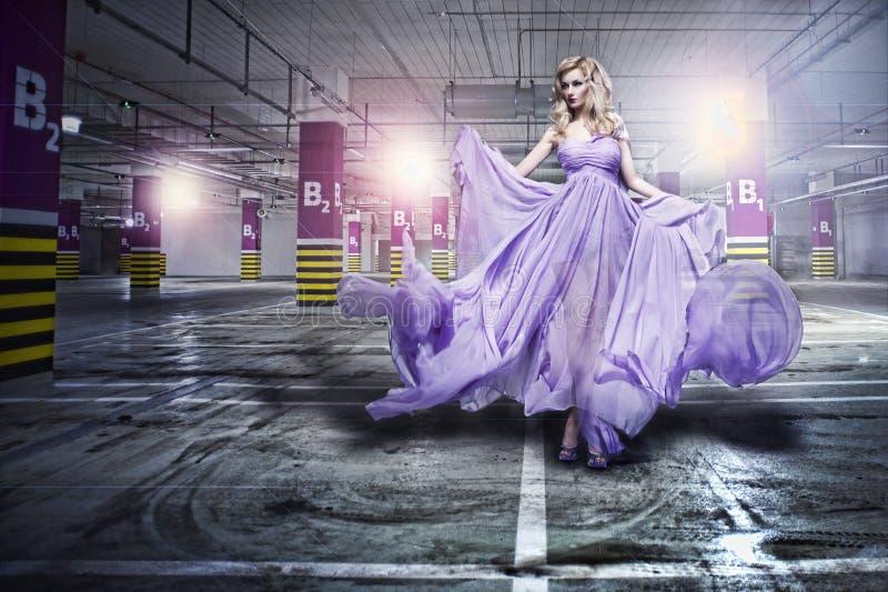 Fantastic fashion woman stock photos