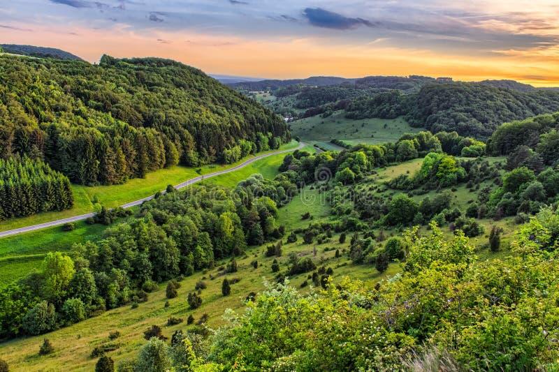 Download Fantastic Franconian Spring Landscape Stock Image - Image: 40991381