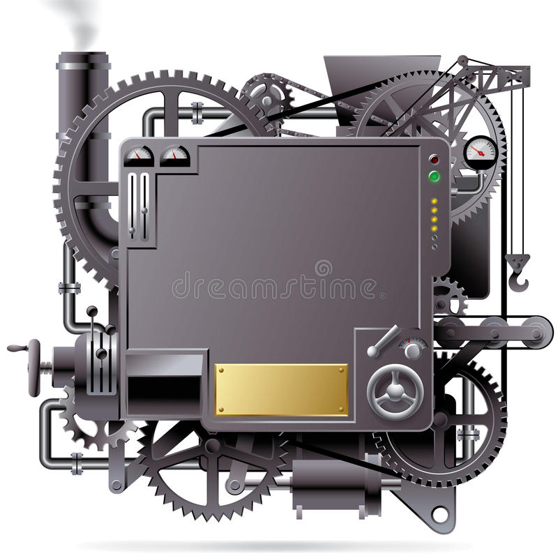 Free Fantastic Machine Royalty Free Stock Photography - 21335307