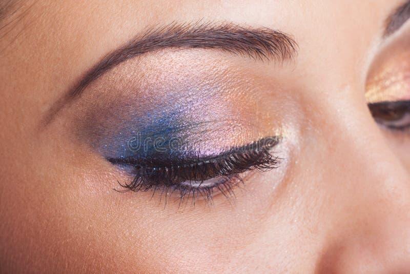Fantastic make up eye royalty free stock photography