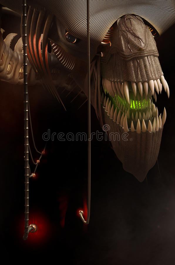 The Fantastic Monster stock photos