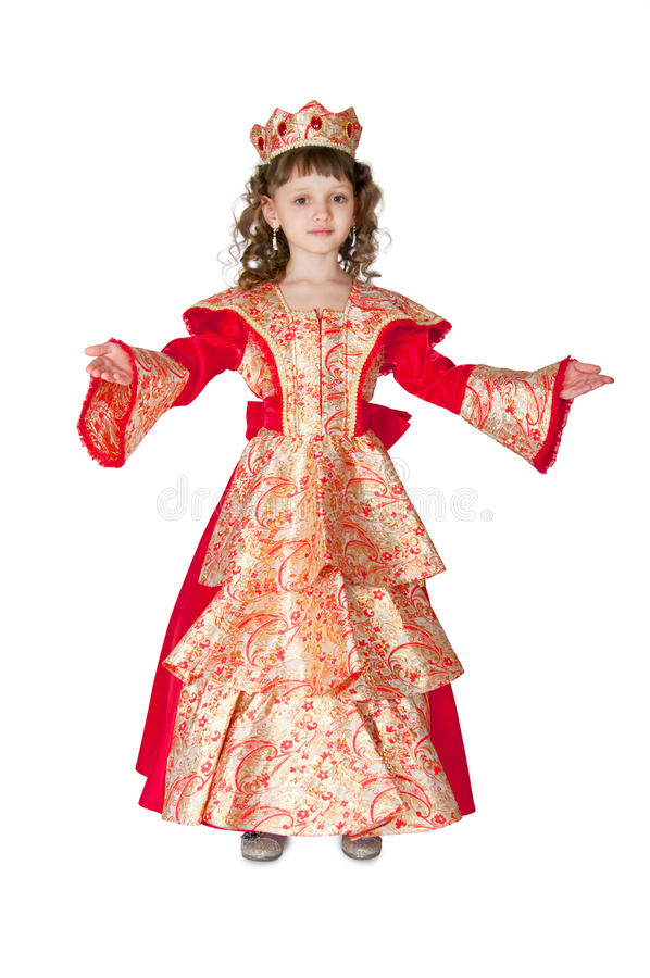 The fantastic princess royalty free stock images