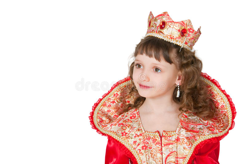 The fantastic princess stock photography