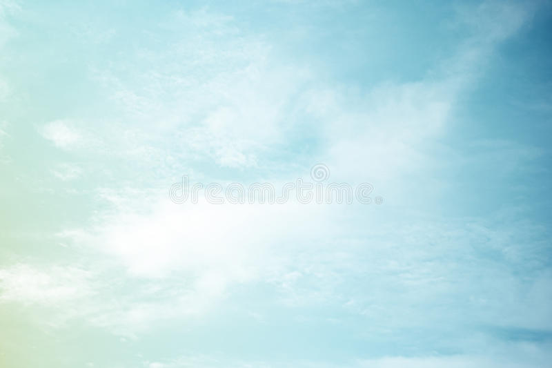 Fantastic soft cloud and sky abstract background royalty free stock photo