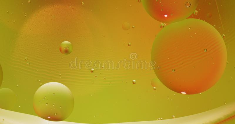 Fantastic structure of colorful bubbles. Abstract multicolored background. Macro. Fantastic structure of colorful bubbles. Abstract colorful paint. Top view stock photos