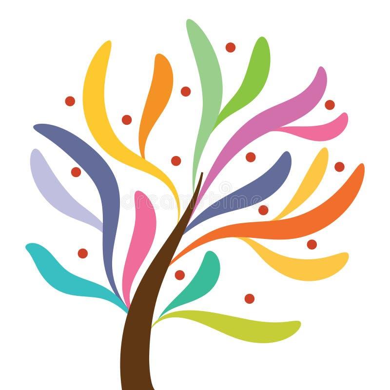Fantastic tree royalty free illustration