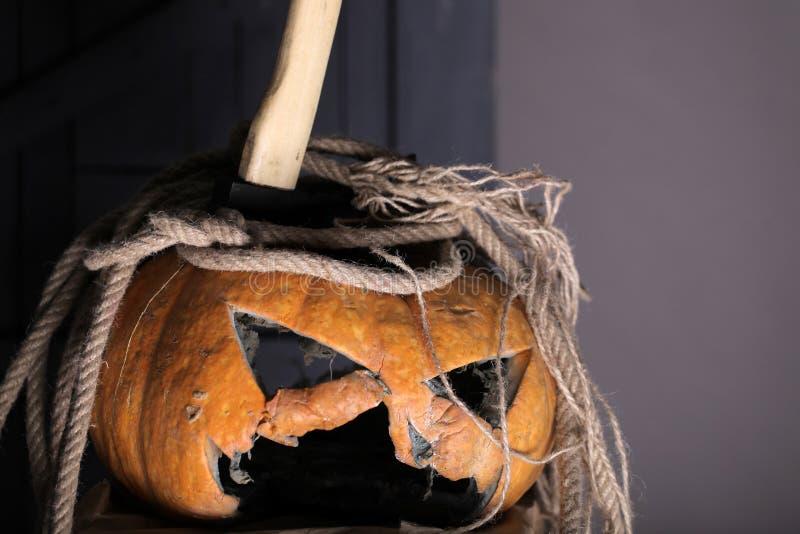 Fantastically dobra zabawa wszystkie świętego dzień znać jako Halloween halloween bania ciie dla świętowania wszystkie świętego d zdjęcia royalty free