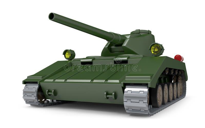 Fantastico pesante del carro armato illustrazione di stock