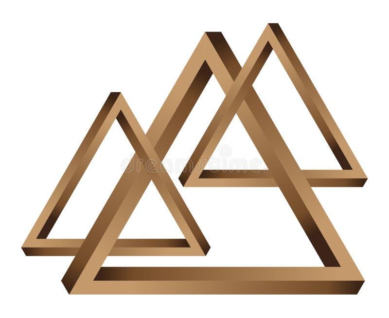 Fantastische Dreiecke vektor abbildung