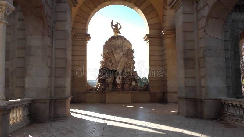 Fantastische Kunst Barcelonas lizenzfreie stockfotos