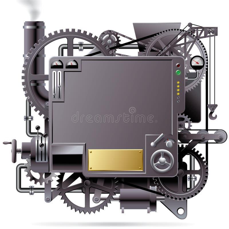 Fantastische Maschine lizenzfreie abbildung