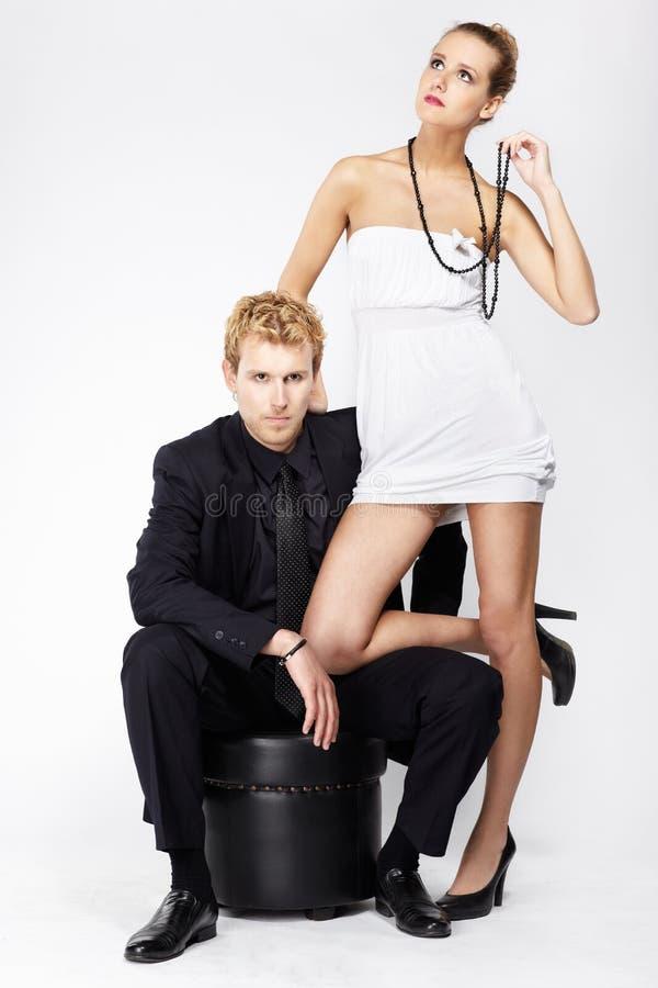 Fantastische Paare lizenzfreies stockbild