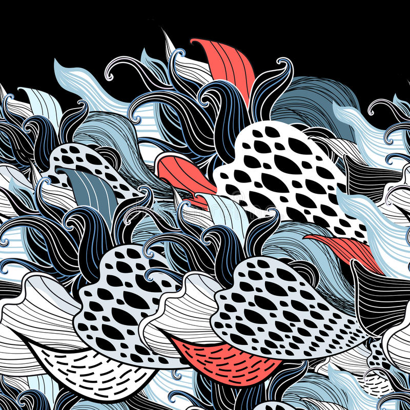 Fantastisches abstraktes Muster vektor abbildung