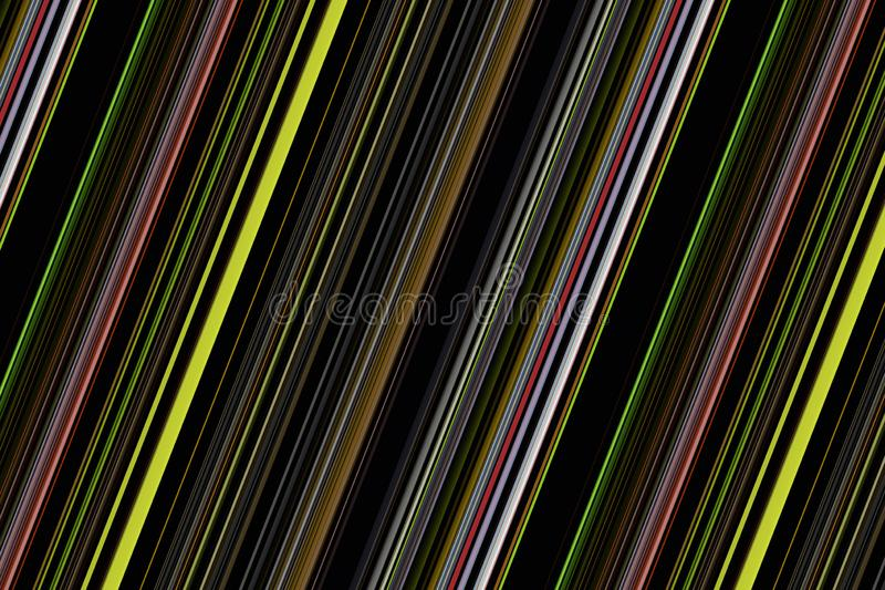 Fantastisches abstraktes Streifenhintergrunddesign stockfotografie
