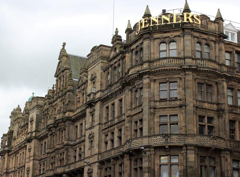 Fantastisk byggnad i Edinburg 2018 arkivbild