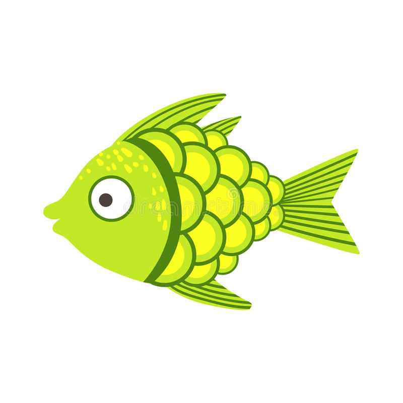 Fantastisk färgrik akvariefisk för gräsplan och för guling, vatten- djur för tropisk rev stock illustrationer