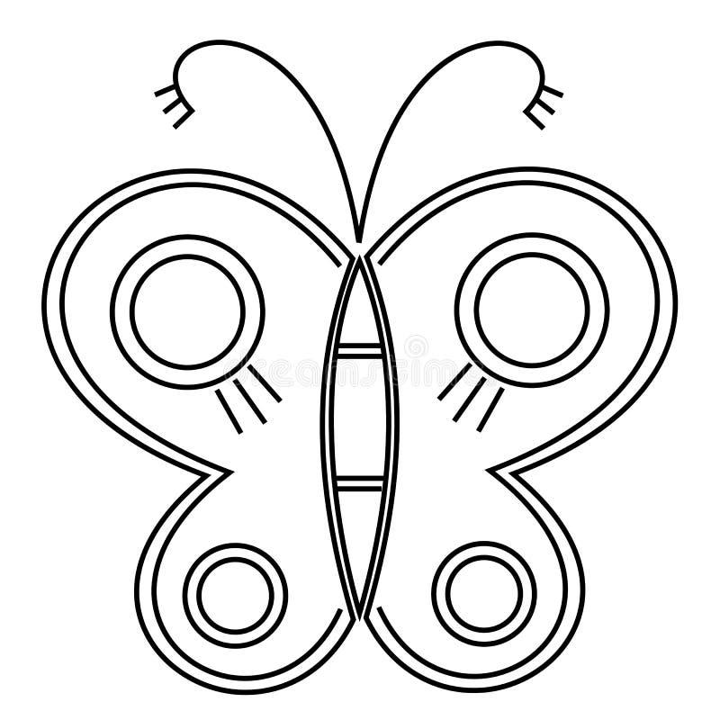 Fantastisk klipsk fj?ril vektor Idérikt bohemia begrepp för att gifta sig inbjudningar, kort, biljetter, lyckönskan som brännmärk royaltyfri illustrationer