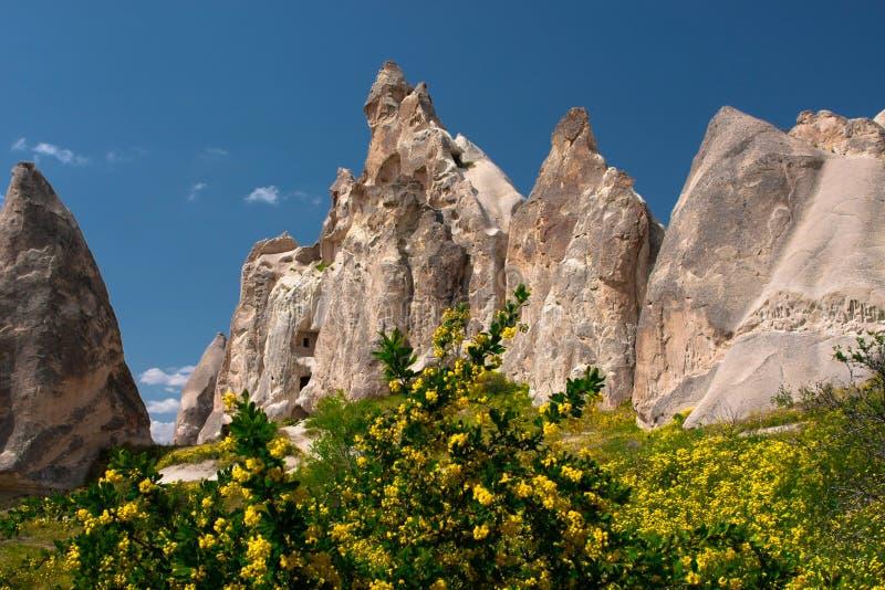fantastisk liggande för cappadocia royaltyfria foton