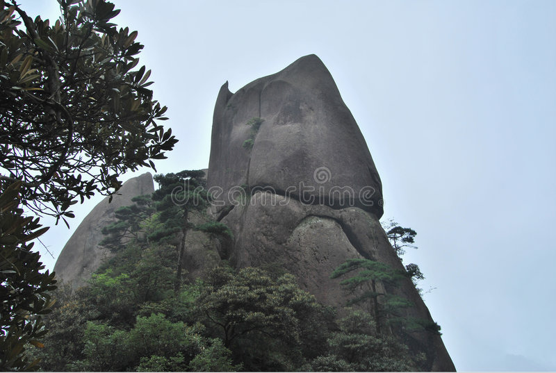 fantastisk sten royaltyfria foton