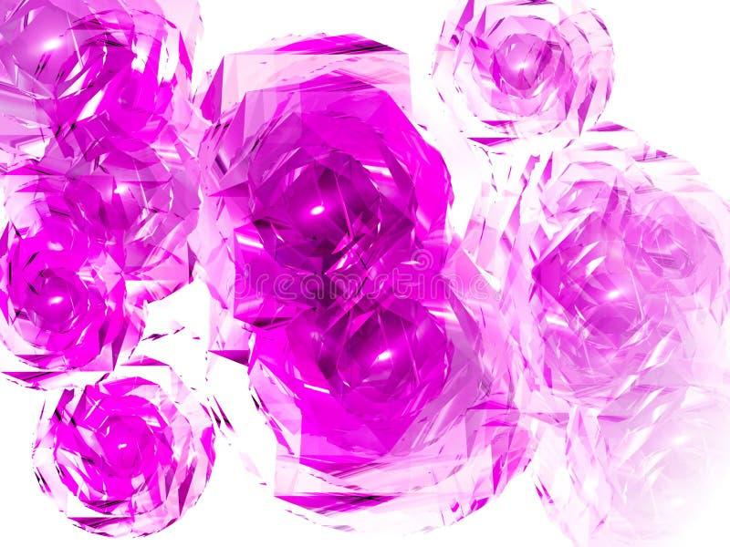 fantastiska blommor vektor illustrationer