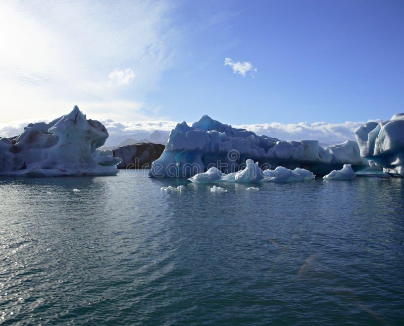 fantastiska isberg arkivfoto