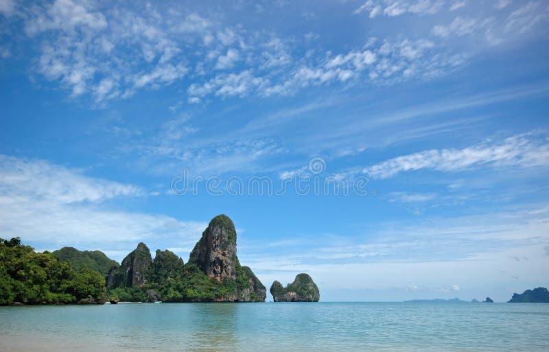 fantastiskt krabilandskap thailand royaltyfria foton