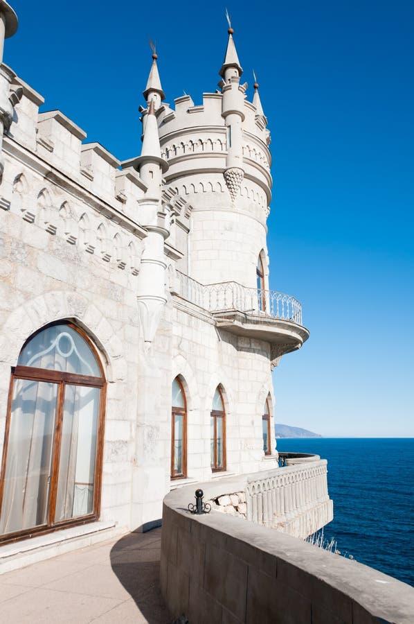 fantastiskt slott royaltyfri foto