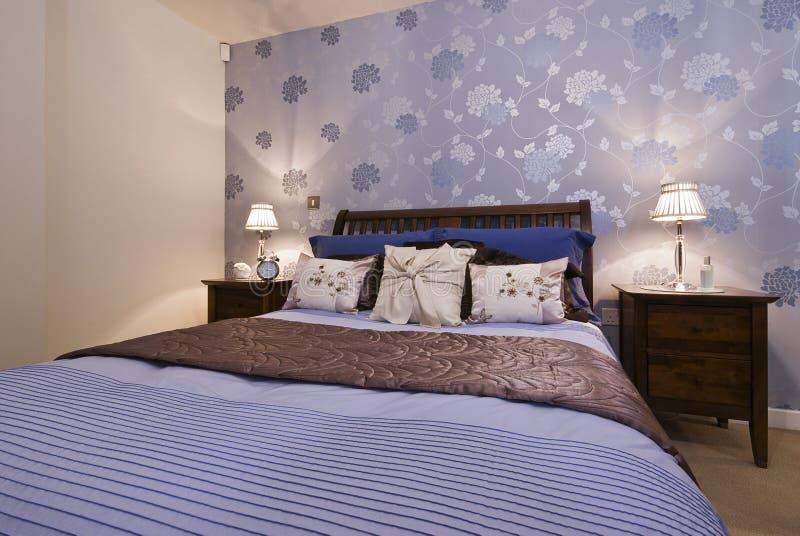 fantastiskt sovrum royaltyfri bild
