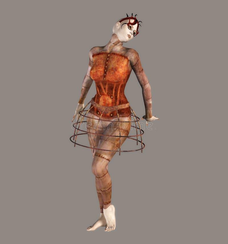 fantastyczna balerina ilustracji
