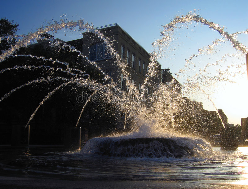 fantastyczna fontanna obraz stock