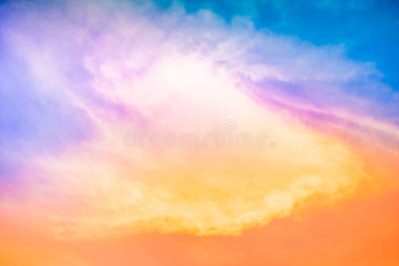 Fantastyczne chmury zdjęcie royalty free
