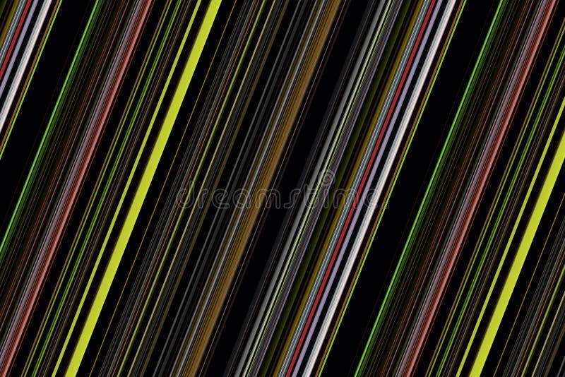 Fantastyczny abstrakcjonistyczny lampasa tła projekt fotografia stock