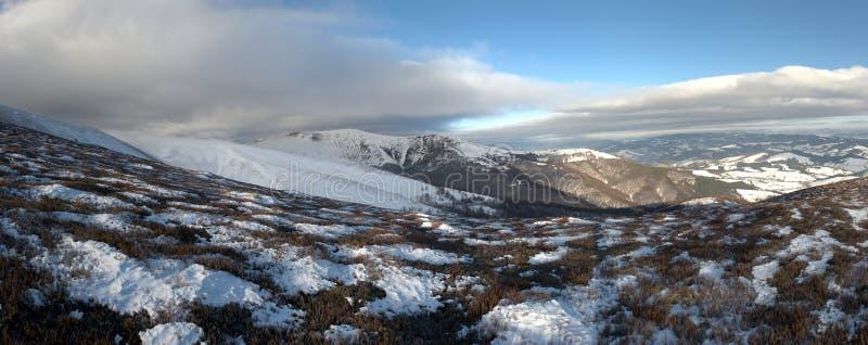 Fantastyczny zima krajobraz obraz stock