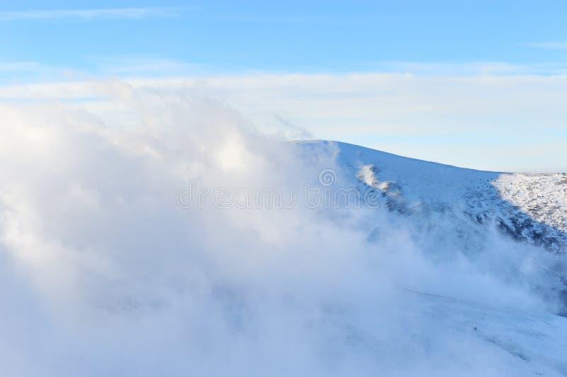 Fantastyczny zima krajobraz zdjęcia royalty free