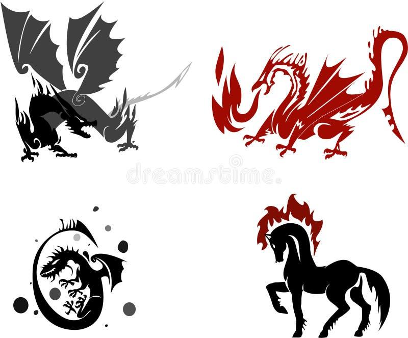 Fantasy royalty free illustration