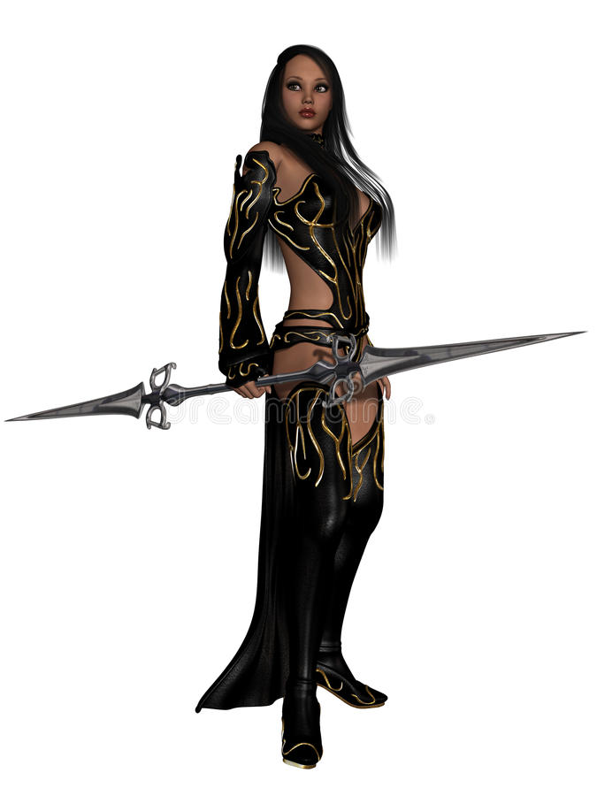Download Fantasy Action Figure stock illustration. Image of beauty - 20546062