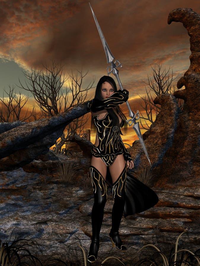 Fantasy Action Figure Royalty Free Stock Photos