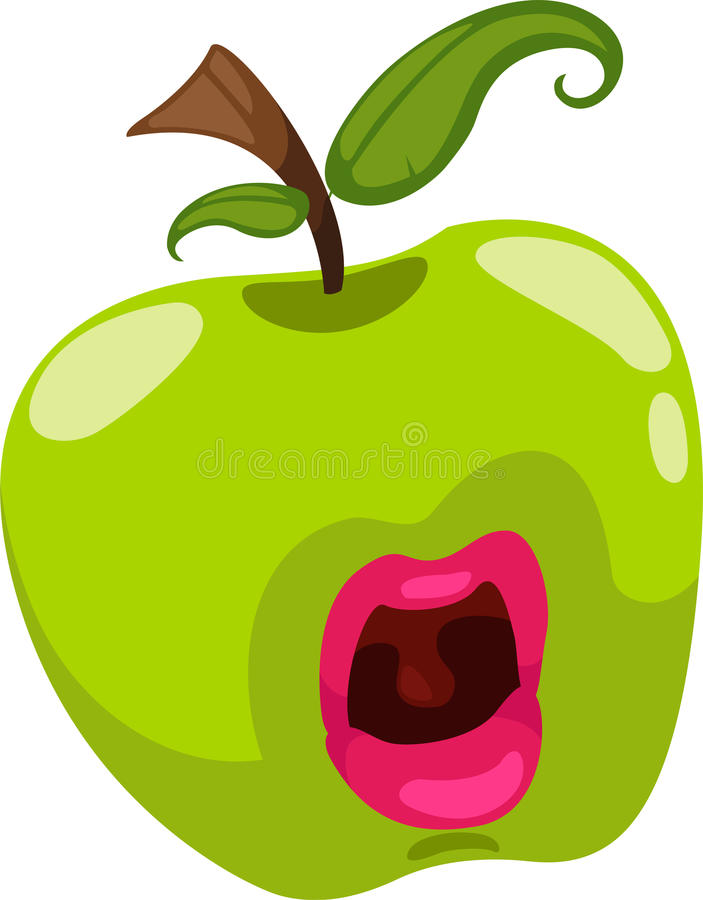 fantasy apple vector