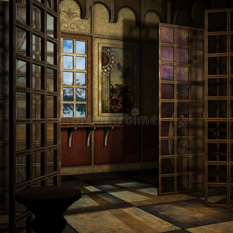 Fantasy Background stock illustration