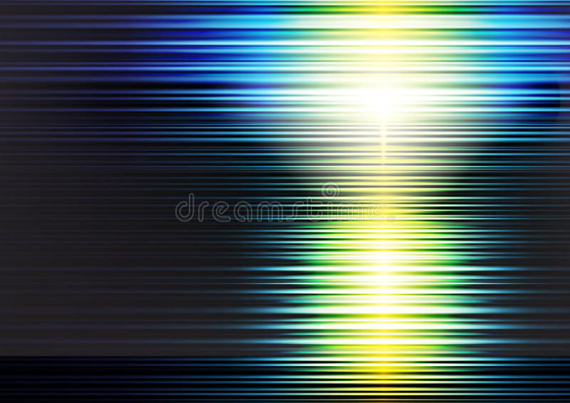 Fantasy background. With the sunset royalty free illustration