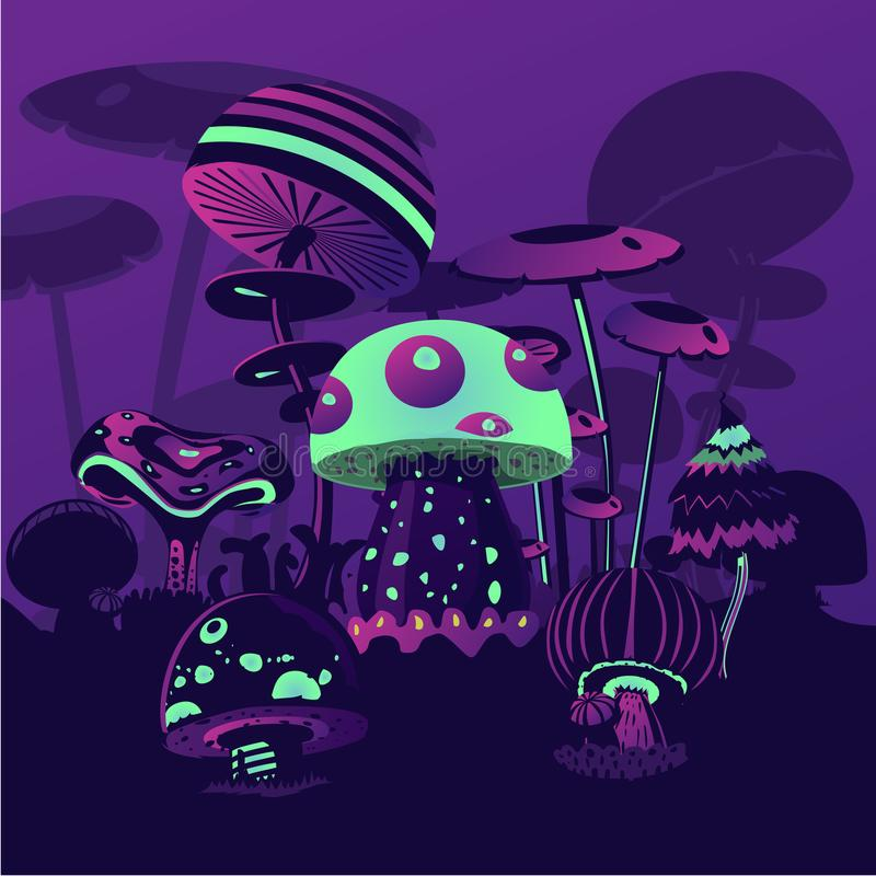 Magic Mushrooms Game