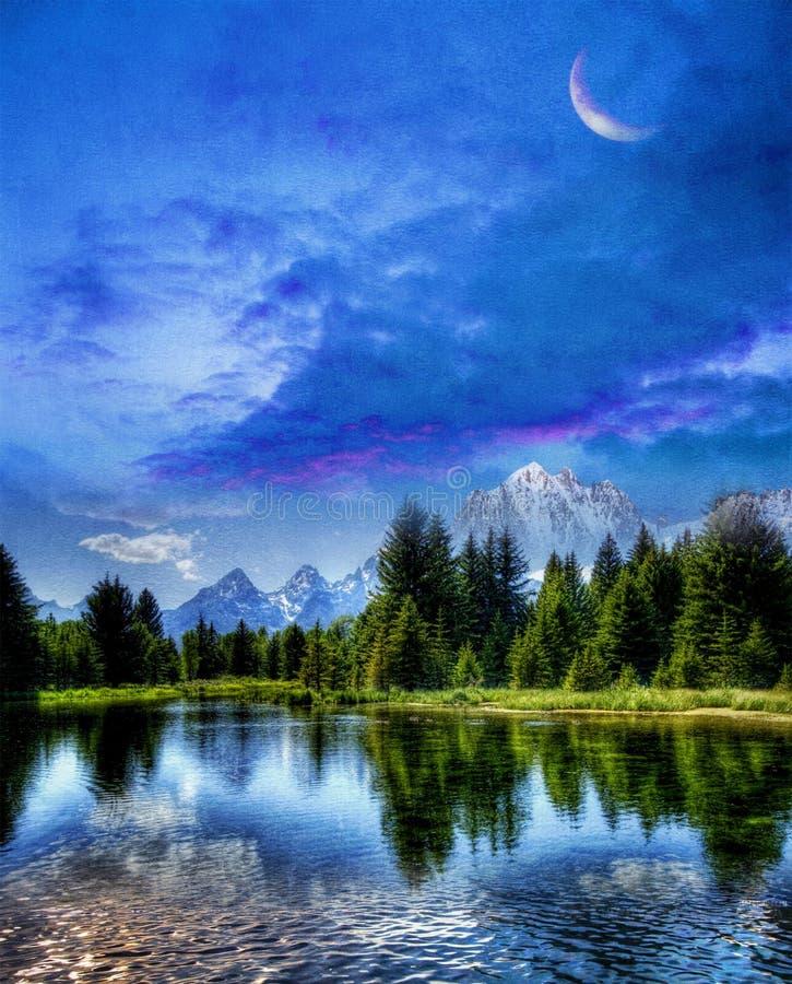 Download Dreamy Landscape stock image. Image of creative, ocean - 29898765