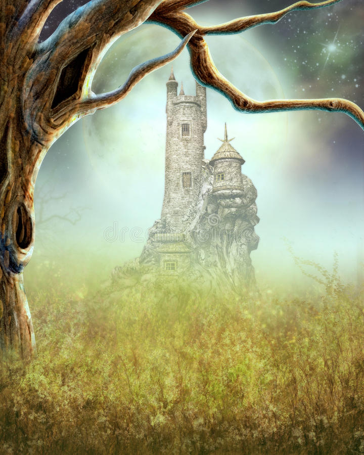 Download Dreamy Background stock illustration. Illustration of view - 30225835
