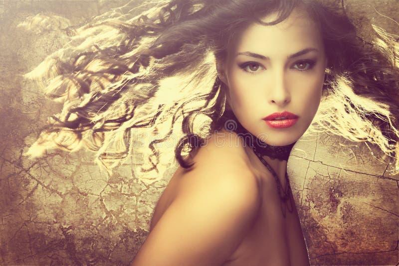Download Fantasy beauty stock image. Image of motion, sensual - 28829495
