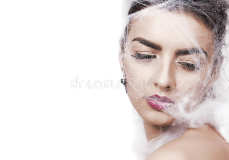 Fantasy beauty portrait royalty free stock images