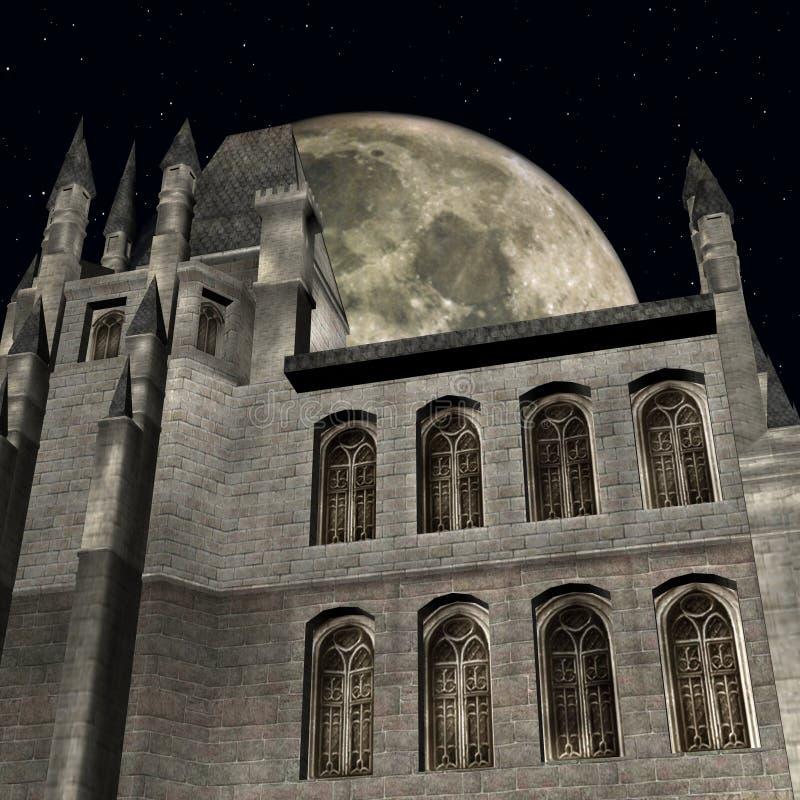 Fantasy Castle Royalty Free Stock Photos