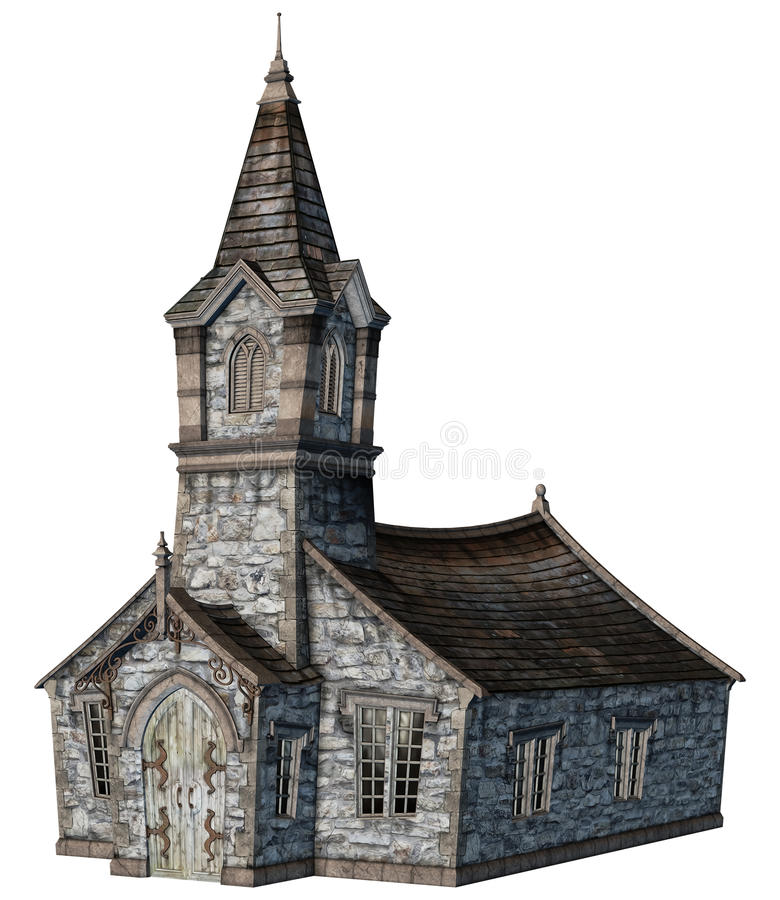 Download Fantasy church building stock illustration. Image of fantasy - 19008598