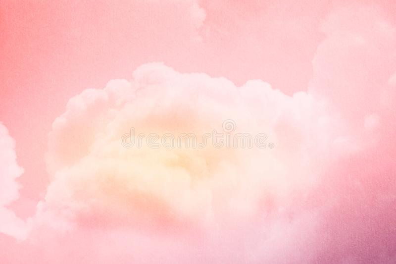Fantasy cloudy sky with pastel gradient color and grunge texture, nature background. Fantasy cloudy sky with pastel gradient color and grunge texture, nature stock photos
